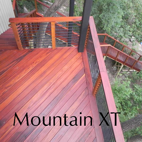 Mountain XT Clear 00 is the best deck stain